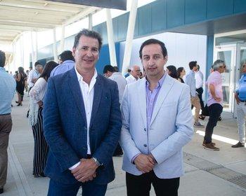 Guillermo Bazzan y Victor Quintanilla