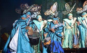 Concurso de Carnaval en el Teatro de Verano.
