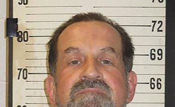 Una fotografía del Departamento de Correccionales donde aparece Nicholas Sutton.