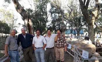 Otro éxito fue el 3er. remate conjunto de Don Aniceto, de Rafael Normey García Pintos; y La Orejana, de Salvador García Pintos.