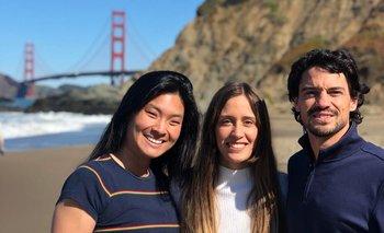 Christine Lee, Martina Quartara y Martín Vignolo forman parte del equipo de PathMe