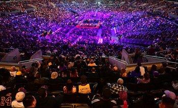 El Staples Center lleno