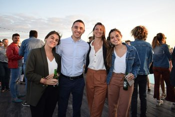 Micaela Rodríguez, Andrés Martínez, Daniela Cabral y Victoria Rodríguez