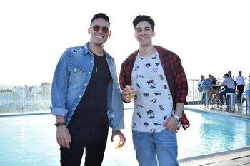 Michael Pose y Santiago Rodríguez