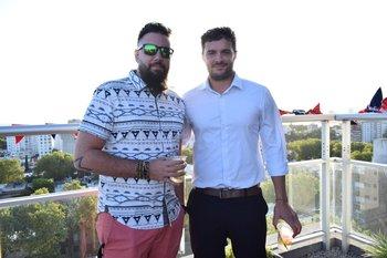 Nicolás Salaberry y Andoni Goicoechea