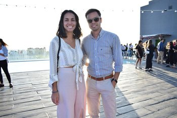 Paola Uberti y Rodrigo Fagundez