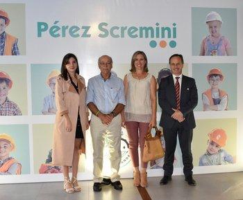 Fundación Perez Scremini y representantes de Pulso. Camila Iruleguy, Dr. Luis Castillo, Isabel Gutierrez y Anselmo Orihuela