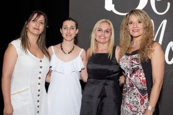 Rosalia Caraballo, Ana Laura Borre, Yaquelin Perez y Raquel Grosso