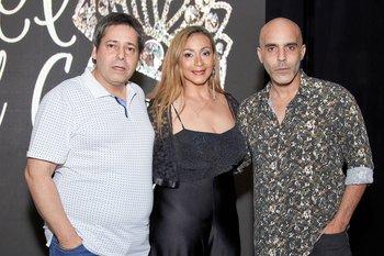 Luis Millan, Aurelia Negri y Nicolas Osano
