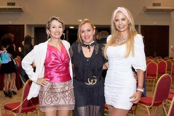 Mary Ferreyra, Marita Silva y Alice Alvira