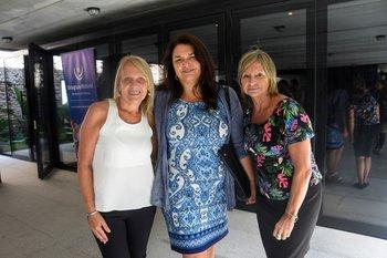 Monica Bacchi, Larissa Perdomo y Doris Rodriguez