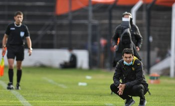 Mauricio Larriera, entrenador de Peñarol