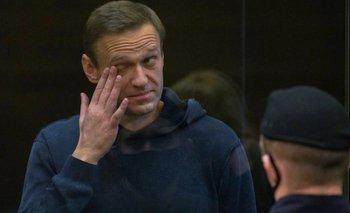 Alexei Navalny estaba detenido en Moscú desde mediados de enero