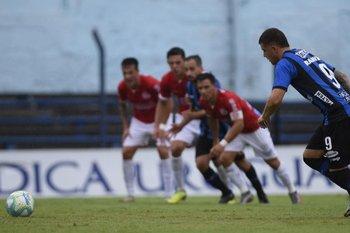 El Colo Ramírez, goleador del Uruguayo