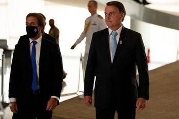 Lacalle Pou se mantuvo próximo a la posición de Brasil en las últimas cumbres del Mercosur