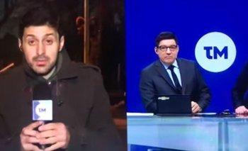 El periodista Miguel Chagas era hasta ahora el encargado de los policiales en el informativo central del 12.