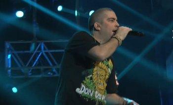 """Patricio """"Pato"""" Fontanet, vocalista y líder de la banda argentina Don Osvaldo"""