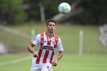 Juan Quintana, delantero de River