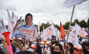 """Las elecciones en Ecuador tendrá a un referente del """"correísmo"""""""