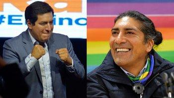 El correísta Andrés Arauz y el líder indígena Yaku Pérez vencieron en las elecciones de este domingo en Ecuador y disputarán el balotaje en abril