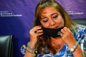 Irene Moreira, ministra de Vivienda y Ordenamiento Territorial