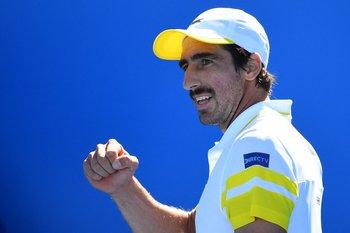 Cuevas ganó en su debut en el Abierto de Australia
