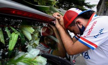 El dolor de los hinchas de Nacional tras la muerte del Morro