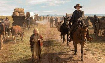 Los personajes de Johanna y Kidd deben atravesar las peligrosas llanuras del sur