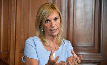 Beatriz Argimón, vicepresidenta de Uruguay.