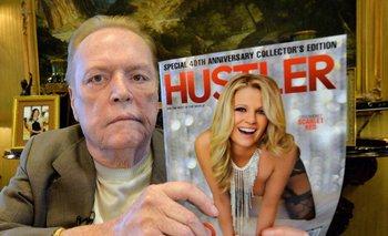 Larry Flynt fundó la revista Hustler en 1974 luego de publicar exitosos folletos que promocionaban sus clubes de striptease en Estados Unidos