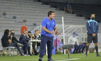 Giordano durante el partido contra City Torque.
