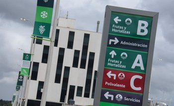 El nuevo mercado modelo, en la zona rural de Montevideo.