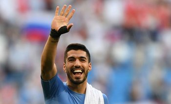 Luis Suárez sentirá una ausencia importante en la delantera uruguaya en los próximos dos partidos