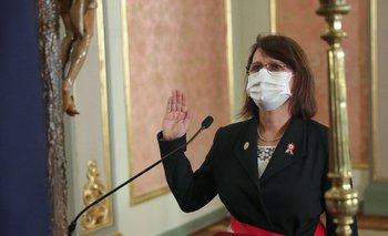 La ministra de Salud de Perú, Pilar Mazzetti