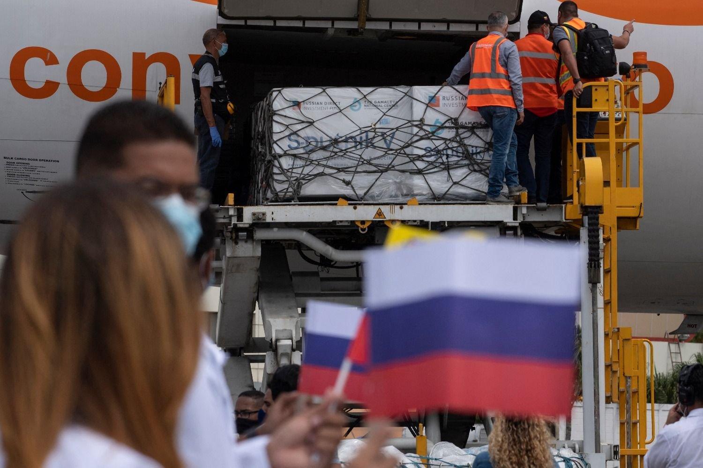 Llega a Venezuela el primer cargamento de vacuna rusa Sputnik V