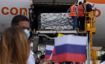 Cargamento ruso con Sputnik V llega a Venezuela