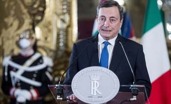 Mario Draghi fue presidente del Banco Central Europeo