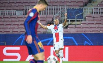 Mbappé la descosió con tres goles