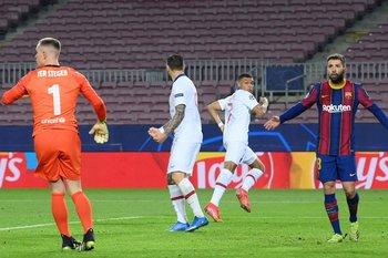 Jordi Alba muestra su decepción