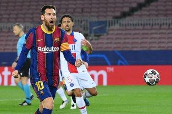 Messi, un gol que solo fue esperanza