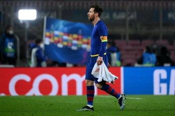 Así se fue Messi