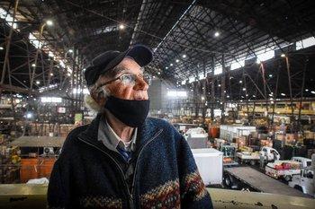 Antonio Aufe en el Mercado Modelo