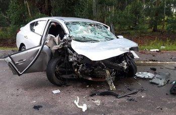 El accidente se produjo en la tarde de este miércoles
