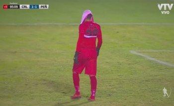Washington Aguerre fue cuestionado por su festejo en el empate de Cerro Largo ante Peñarol