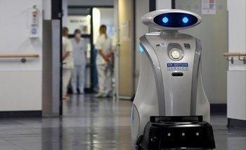 El robot fue adquirido para la limpieza, pero ahora tiene una nueva función