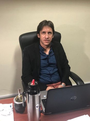 Joaquín Gamba, presidente de la Asociación de Defensores Públicos