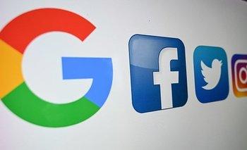 Google y Facebook.