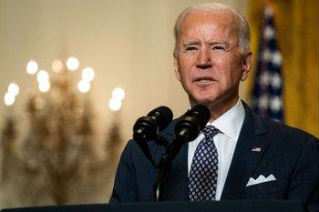 Joe Biden en la conferencia virtual sobre seguridad