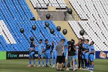 El emotivo homenaje de los jugadores de Godoy Cruz al Morro García