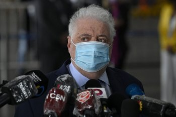 El exministro de Salud de Argentina Ginés González García